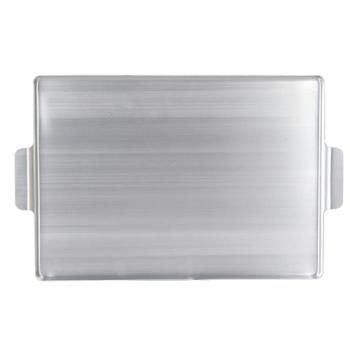ALUMINUM SERVING TRAY WITH HANDLE A トレイ アルミ 長さ47.5