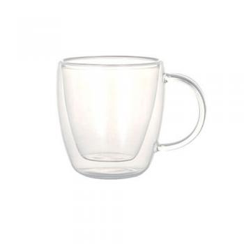 DOUBLE WALL GLASS CUP CAPPUCCINO グラス カップ 高さ8.5