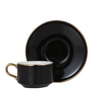 CUP&SAUCER Numelo 1 BLACK カップ ソーサー 食器 上品 直径11.5