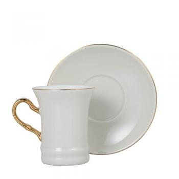 CUP&SAUCER Numelo 2 IVORY カップ ソーサー 食器 上品 直径19