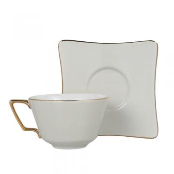 CUP&SAUCER Numelo 3 IVORY カップ ソーサー 食器 上品 高さ15