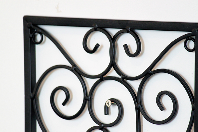 壁掛け 小窓 窓枠 アイアン デコレーション