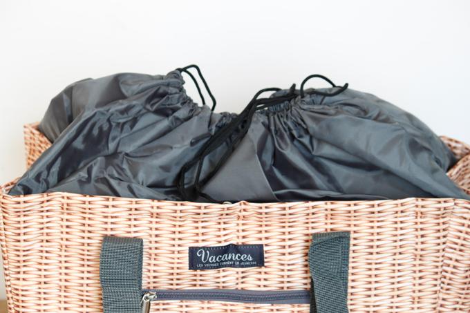 クーラートートバッグ かごバスケット 大容量