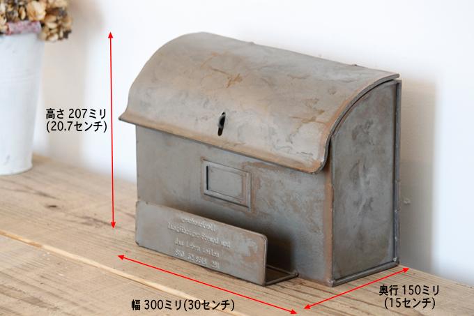 ハンドメイド メールボックス ヨーロッパ アンティーク雑貨