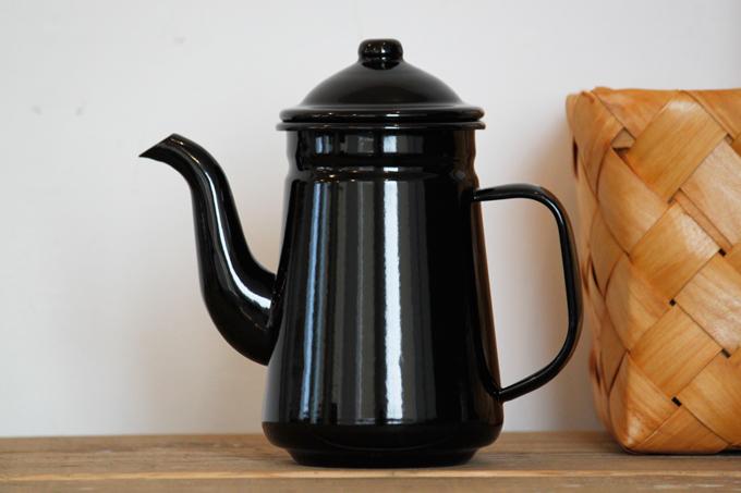 アンプリュスコーヒーポット ドリップ ホーロー