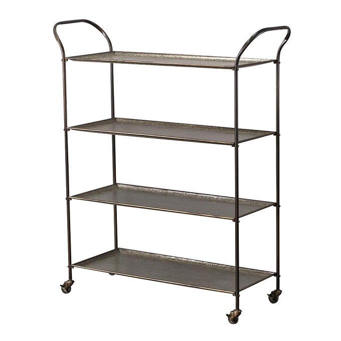 GARAGE METAL 4TIER SHELF